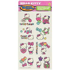 "Hello Kitty Rainbow Temporary Tattoo Birthday Party Favours (16 Pieces), Multi Color, 9.2"" x 4"". (3 Pack of 16) * Read more reviews of the product by visiting the link on the image. (This is an affiliate link)"