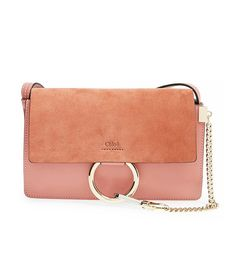 Chloé Small Faye Shoulder Bag in Faded Rose