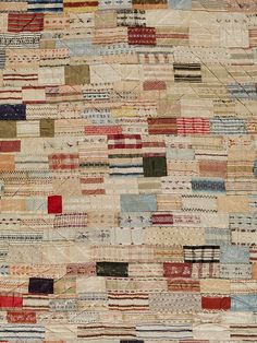 Bed cover  Place of origin:      Cornwall, England (probably, made)  Date: 1740-1800 (made)     How neat is that! We still have this history with us today!  #quilts #history #vintagequilts