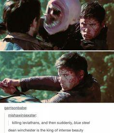 Jensen Ackles/Dean Winchester is pretty hot. :S :3