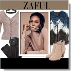 ZAFUL! by clumsy-dreamer on Polyvore featuring BRAX, Michael Kors and zaful