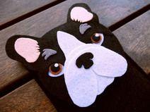 Funda iPhone Bulldog Frances- Funda teléfono perro