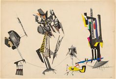 Robert KLIPPEL (Untitled) 1955 collage of cut printed illustrations, gouache and pencil x cm sheet NGV Melbourne Australian Art, Gouache, Recycling, Collage, Graphic Design, Sculpture, Drawings, Prints, Exhibitions