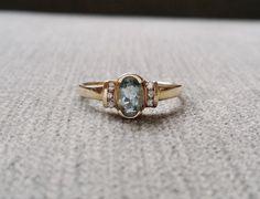 Hey, I found this really awesome Etsy listing at https://www.etsy.com/listing/214949135/aquamarine-diamond-gemstone-antique
