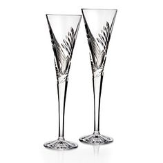 Waterford Crystal Wishes Beginnings Champagne Flute, Pair | Bloomingdale's