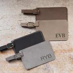 PU Leather Luggage Tags Label Suitcase Tags For Men And Women Stop Loss Of Suitcases