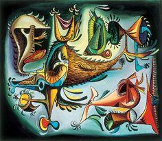 Eugenio Granell, Los blasones mágicos del vuelo tropical, 1947