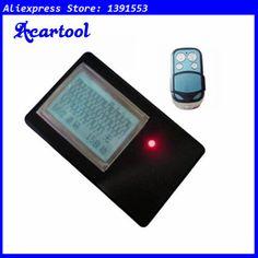Acartool 315mhz 433mhz remote control rolling code keyless entry copier decoder 2 in 1 + self-cloning car remote key A006