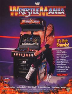 No Bret! You cannot Russian Legsweep an arcade cabinet!