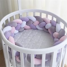 Nordic Style Plush Stuffer Long Knotted Braid Pillow Baby Crib Bumper Cushion Set Baby Room Decoration Gift Plush Knot Pillow Buy it before it ends. There is always many products on sae upto - Nordic Style Plush Stuffer Lo. Baby Crib Bumpers, Baby Bumper, Baby Mattress, Cot Bumper, Baby Crib Bedding, Baby Pillows, Baby Cribs, Bolster Pillow, Pillow Room