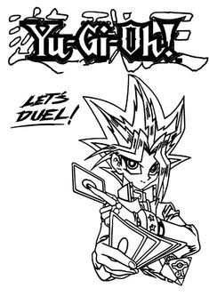 20 Yu Gi Oh Coloring Page Ideas Coloring Pages Yugioh Coloring Pictures