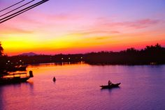 Sunrises in Hoi An Vietnam Destinations, Near Future, Hoi An, Travel Bugs, Vietnam Travel, Sunrises, To Go, Asia, River