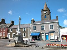 whithorn scotland | Whithorn Town House and Steeple