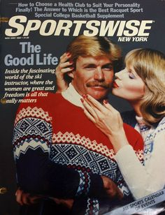 It totally makes sense. When Ron Burgundy retired as anchorman he became a ski instructor.