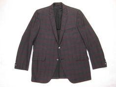 Early 1960s Hart Schaffner & Marx Jacket Vintage Mod Silverwoods Primavera Italian Cotton Tailored Hipster Sport Coat Size 40 Regular