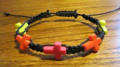 Hey, I found this really awesome Etsy listing at https://www.etsy.com/listing/189600302/hemp-hippie-neon-cross-bracelet-or