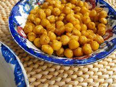 Grão frito com especiarias (Actifry) by a galinha maria, via Flickr