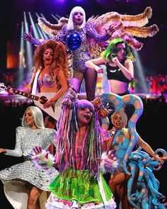 Lady Gaga ArtRave my favourite is the mermaid costume