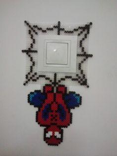 cubre interruptor modelo Spiderman