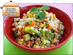PANELATERAPIA - Blog de Culinária, Gastronomia e Receitas: Panela do Leitor: Tabule de Quinua