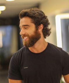 Hair And Beard Styles, Long Hair Styles, Beard Suit, Guy Haircuts Long, Great Beards, Stylish Mens Outfits, Hair Raising, Long Hair Cuts, Bearded Men