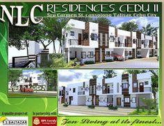 NLC Residences II-Carmen St. TALISAY CITY,CEBU,Philippines Cebu City, Philippines, Luxury Homes, Photo Wall, Mansions, House Styles, Luxurious Homes, Photograph, Luxury Houses