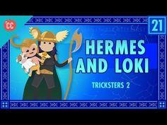 Hermes and Loki and Tricksters Part 2: Crash Course World Mythology - YouTube