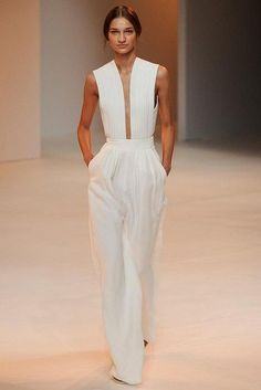 20 Looks with Amazing Jumpsuits http://Glamsugar.com Porsche Design Spring 2015 Ready-to-Wear Collection