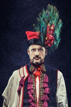 Male Wedding headdress from Kraków, Poland.