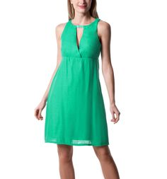 Robe chic fifties - Vert - Robes - Femme - Promod