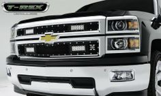 T-Rex 2014 Chevy Silverado 1500 Torch Series LED Light Grille