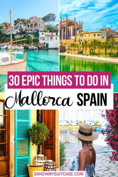 What are some of the best things to do in Mallorca, Spain? Of course, there are lovely beaches to swim at (we love Cala Deia). But you can also hike, explore historic towns and more... #Mallorca #Mallorcatravel #Majorca #Spain #thingstodo #travelguide Spain Travel Guide, Europe Travel Tips, European Travel, Travel Guides, Travel Destinations, Traveling Europe, Backpacking Europe, Oregon, Beach Cove