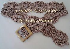 Crochet belt: pattern