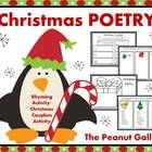 PLEASE NOTE: This item is also sold as part of my Christmas Writing Mega Bundle at a discounted rate.My students love this Christmas rhyming/coup...