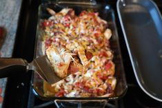 Monterey baked chicken (omit cheese for whole 30)
