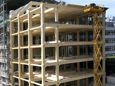 Would you live in a wooden high-rise? Hell yes. Timber, the sustainable building alternative.