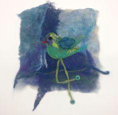 #felt#textiles#birds