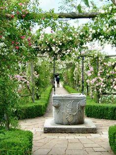 Резултат с изображение за polesden lacey rose garden