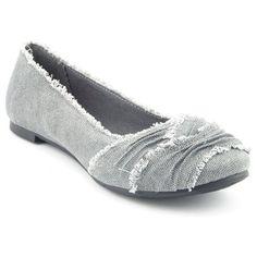 Cute grey flats