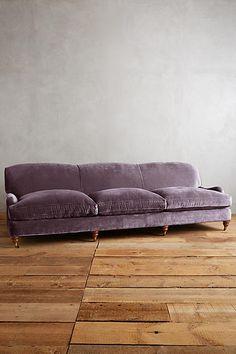 Slub Velvet Glenlee Grand Sofa, Landon but grey please Velvet Furniture, Sofa Furniture, Furniture Design, Living Room Sofa, Living Room Furniture, Living Rooms, Living Area, Best Leather Sofa, Unique Sofas