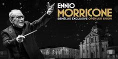Ennio Morricone spreekt zijn Belgische fans toe