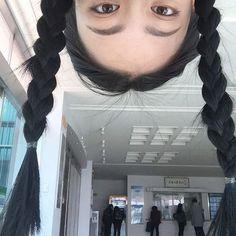 Image about girl in 여자 ♀ by 노을 ☾ on We Heart It Korean Aesthetic, Aesthetic Photo, Aesthetic Girl, Ivana Baquero, New Danganronpa V3, Ulzzang Korean Girl, Uzzlang Girl, Insta Photo Ideas, Photo Poses