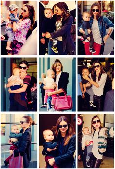 Miranda Kerr and Flynn Bloom- just because they're my favorite baby-mama relationship :)