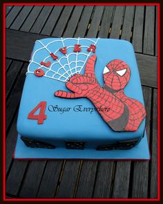 spiderman cake - Google Search