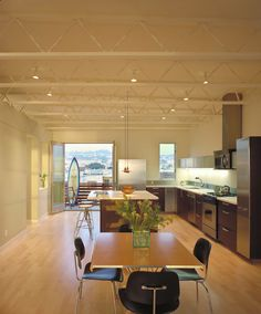 Ocean Beach Residence - modern - dining room - san francisco - Nick Noyes Architecture