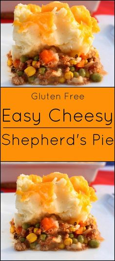 Easy, Cheesy Shepherd's Pie is a traditional British dish. Substitute ground beef or turkey for ground lamb.