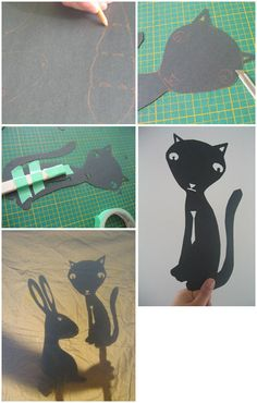 I love these shadow puppets. For our next show...