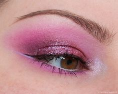 The main focus of this #eyeshadow look is #Devinah Cosmetics Starfire Pressed Pigment, which is part of the Galaxy Dust Shifters Collection, but I also mixed a whole bunch of different products together. Nars Radiant Creamy Concealer, Under Eye Concealer, Purple Eyeshadow Looks, Brow Palette, Brow Tinting, Black Liquid, Lower Lashes, Gel Liner, Bronzer