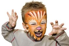 How to Make Natural Face Paint for Halloween (or Other Holidays)