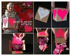 Valentine's Day DIY | Heart Attack Valentine